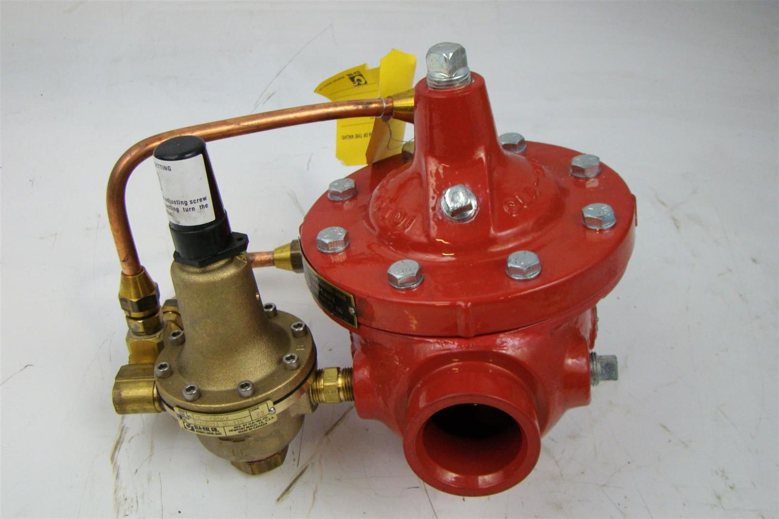 Pilot Control Valve : Cla val pilot operated pressure control valve quot max psi