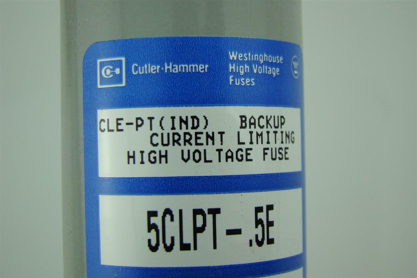 Westinghouse Cutler Hammer High Voltage Fuses 55kv 5clpt 5e Ebay Fuse Box