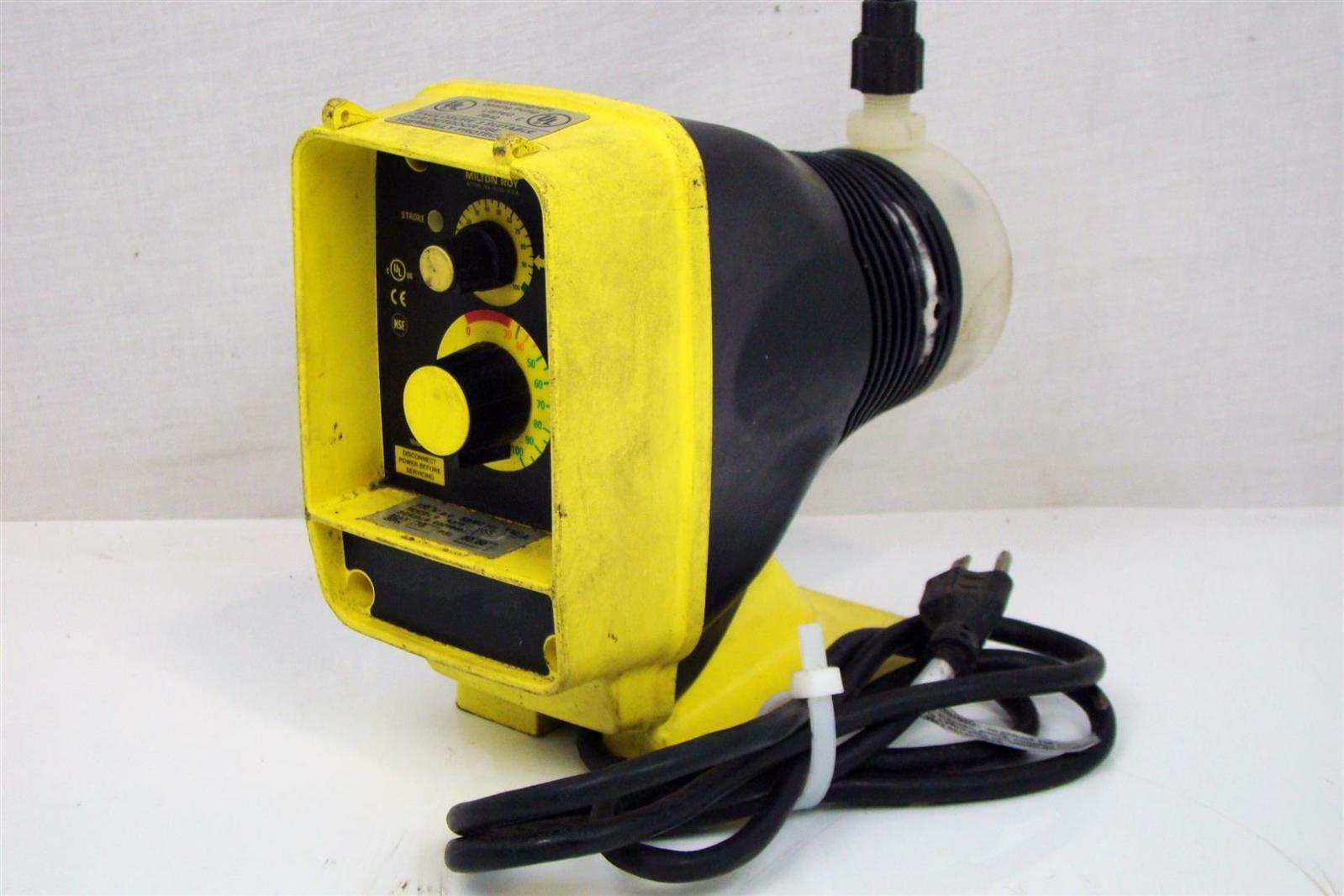 Swell Lmi Milton Roy Electromagnetic Dosing Pump 120V 1 4A 75Psi Aa181 Wiring Digital Resources Bioskbiperorg