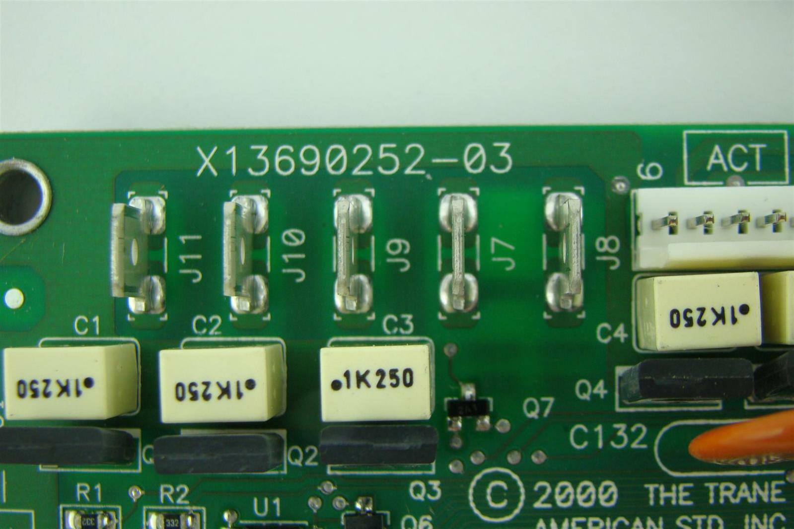 Trane Circuit Board Printed Brd02806 Ebay