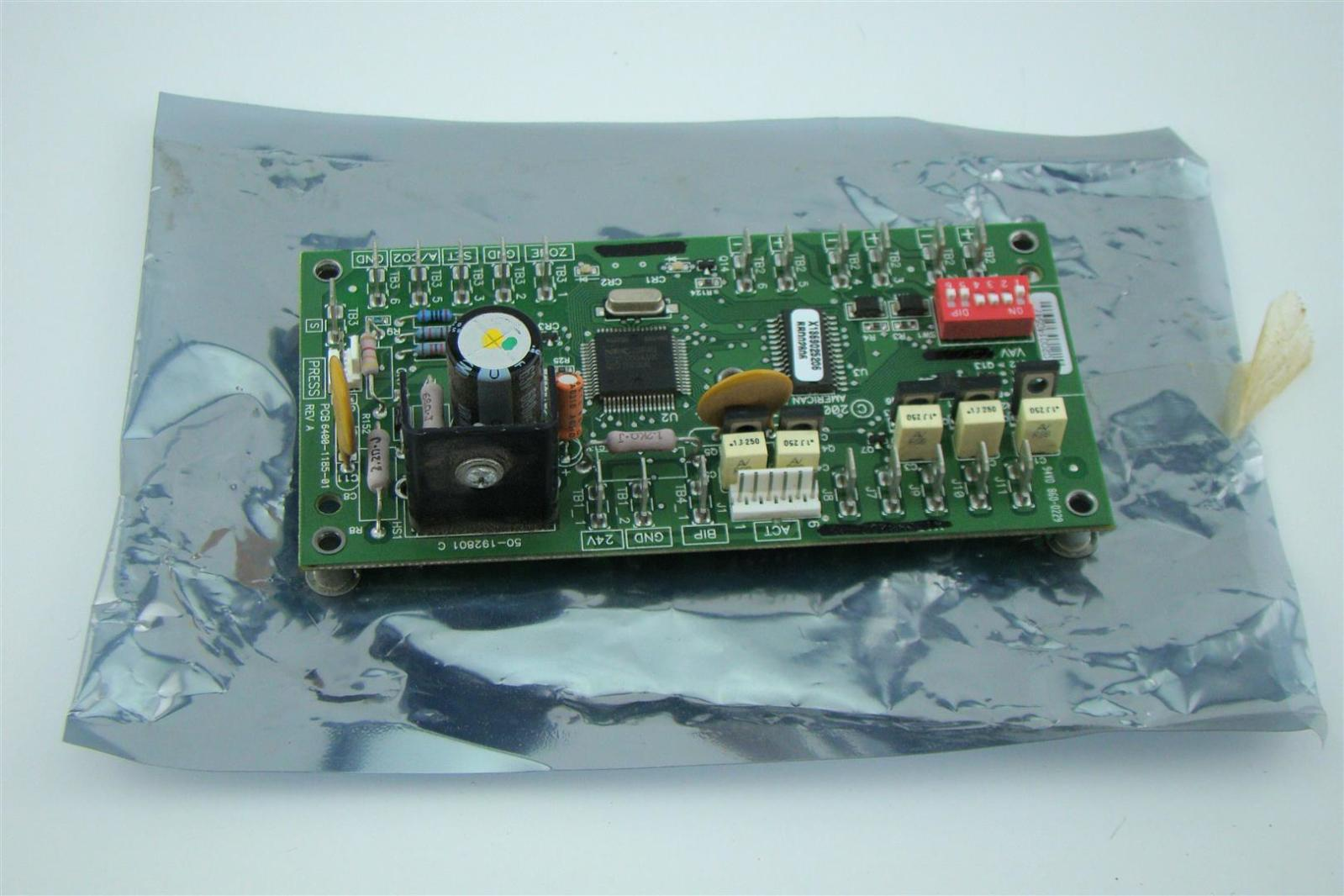 Trane Variable Air Volume Control Circuit Board Pcb 6400 1185 01 Ebay Switch Pcbpcb Boardpcb Manufacturing Product