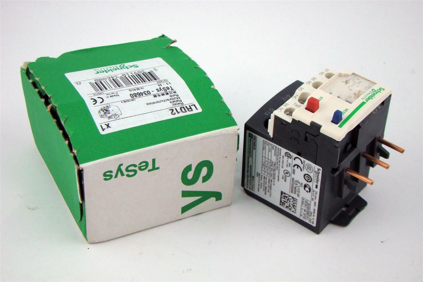 Schneider Electric Overload Relay 690v 50 60hz Cl 10a 55 8a For Electrical