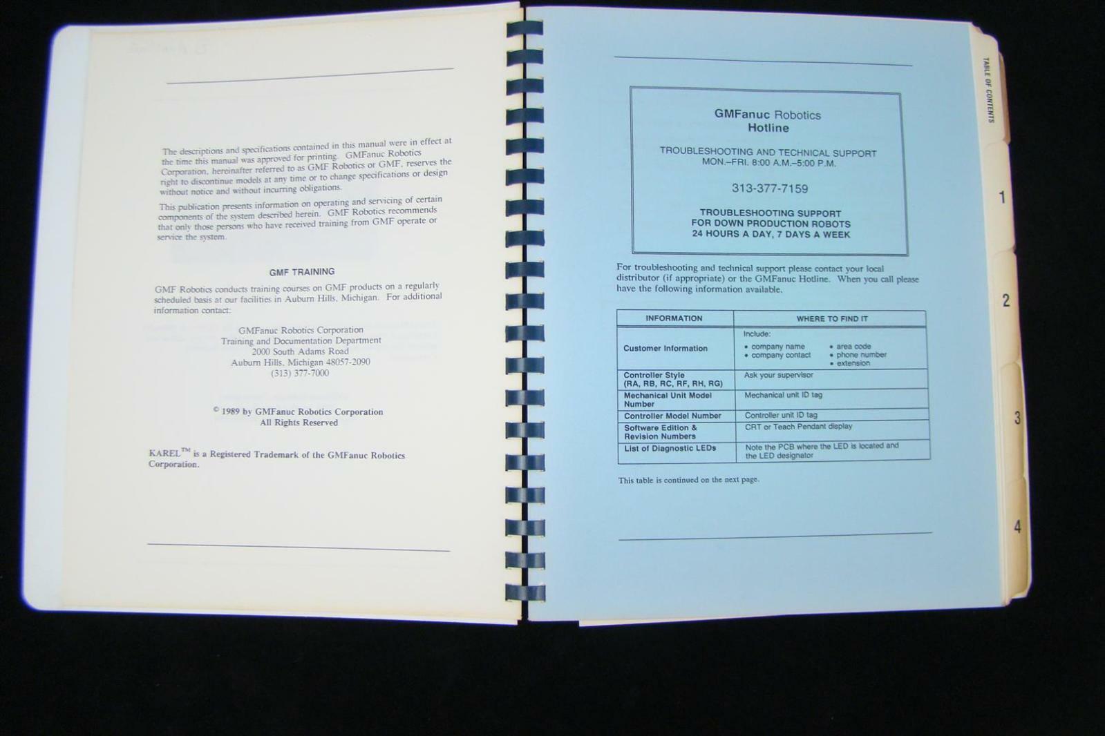 Fanuc Robotics P-150 Paint Application Software Manual V2 10P  MAROPP1500284EP