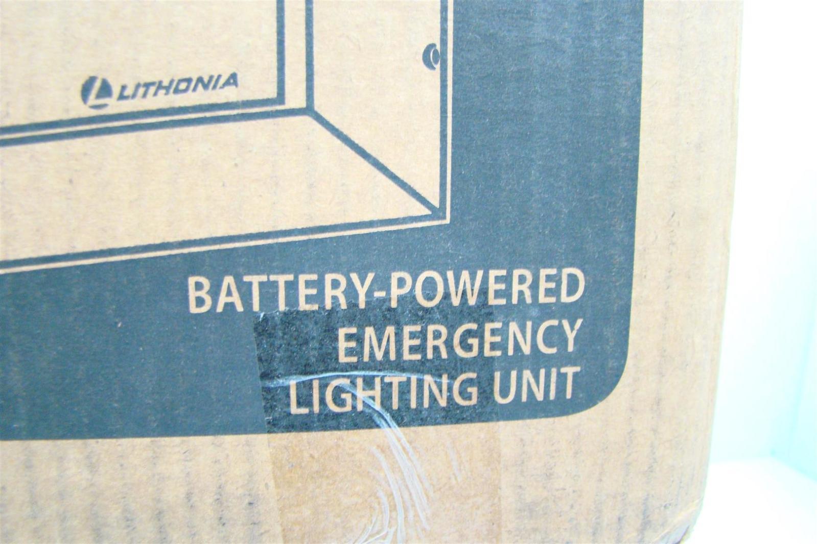 Lithonia Elt 125 Wiring Diagram Detailed Diagrams Titan Battery Powered Emergency Light 125w 12v Elt125lb Ebay Memphis
