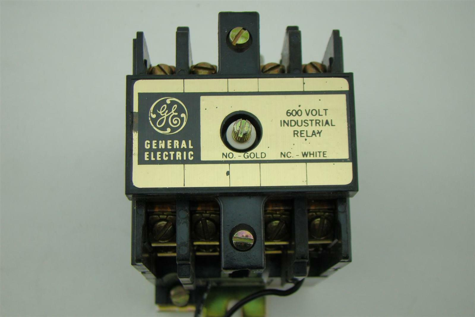 General Electric Relay Industrial 125v Cr120bd04341 Ebay Electrical