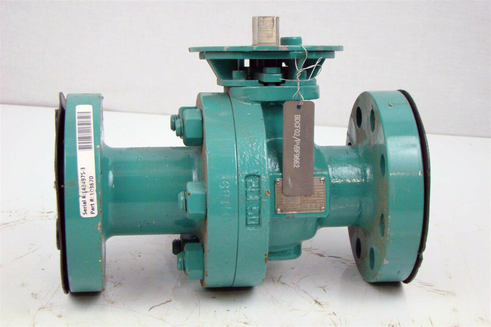 Details about Forum PBV Flanged Floating Ball Valve, 2