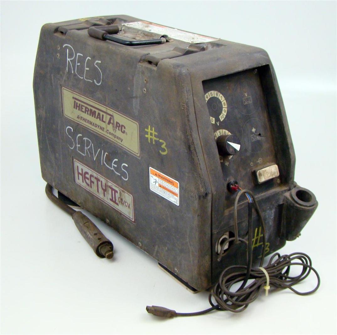 Thermal Arc Hefty II CC/CV Wire Feed Welder | eBay