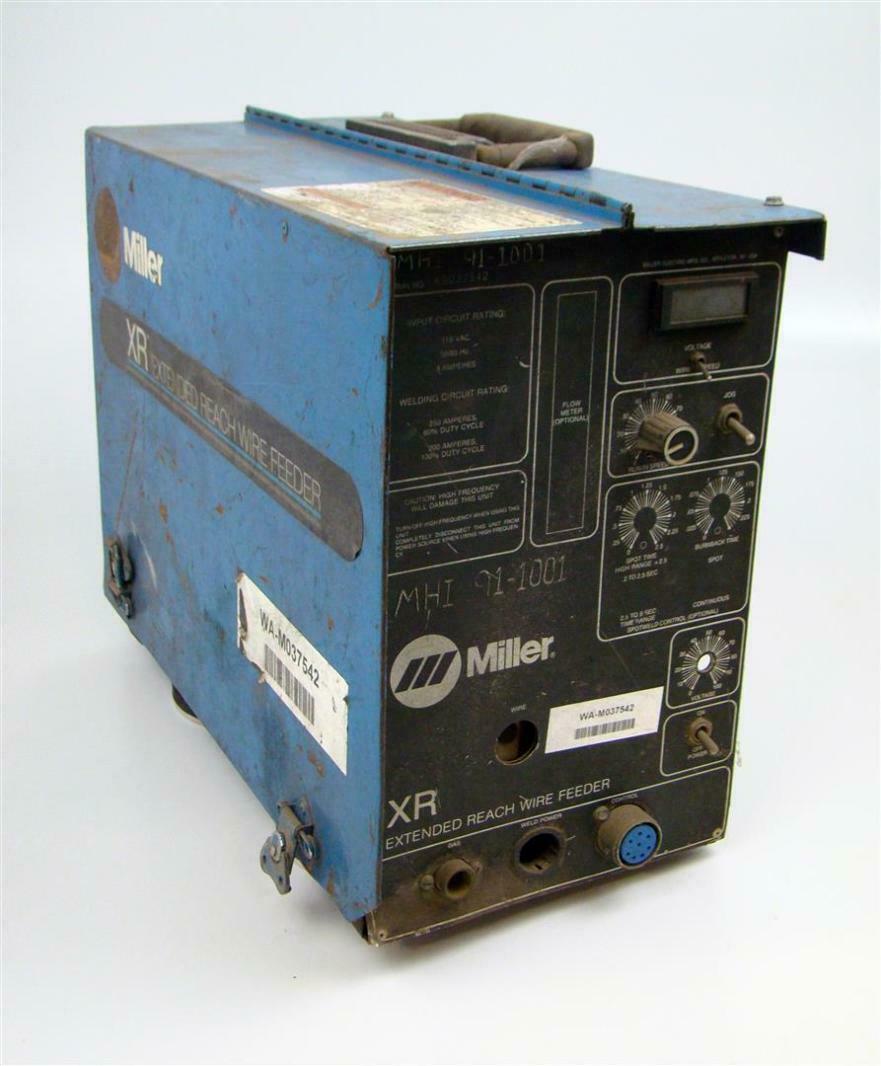 Miller XR Extended Reach Wire Feeder   eBay