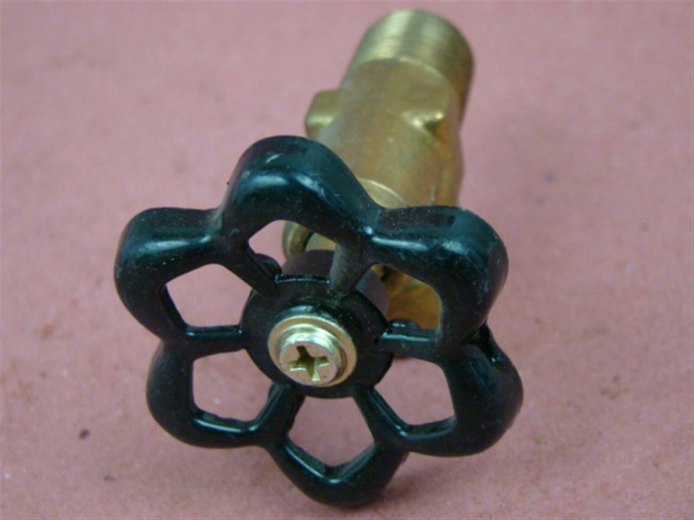 """Abco 3//8/"""" Brass Valve SMA-16 Boiler Drain"""