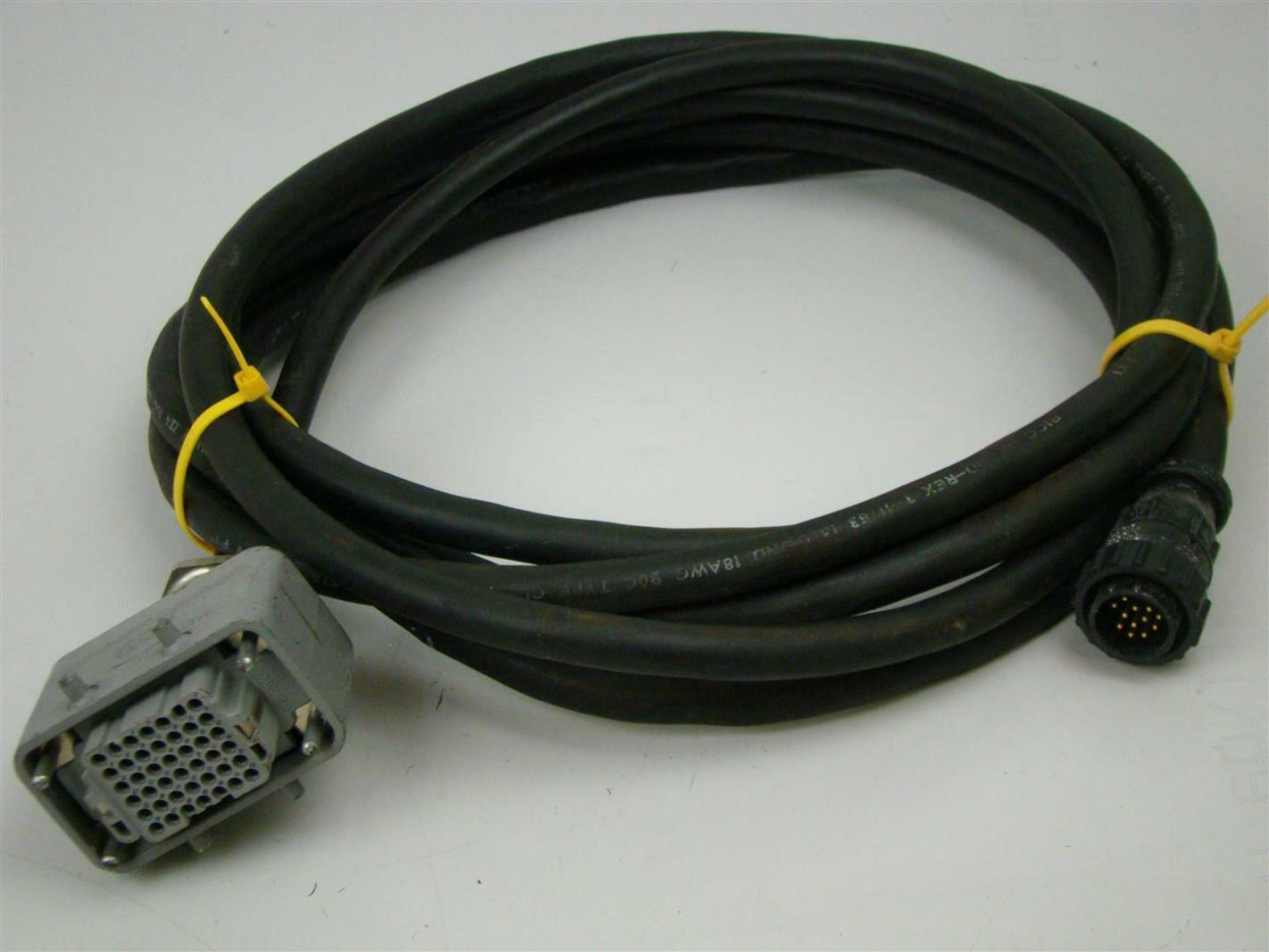Bicc-Brand Rex T Wire w/ Harting Plug Connector T-11763 | Joseph ...