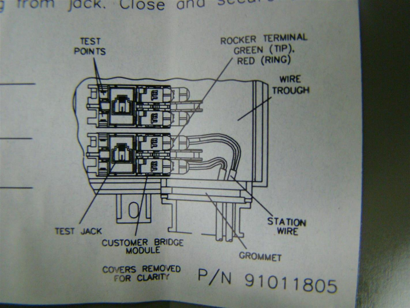 Verizon Network Interface Device Wiring Diagram Telephone Panel Box 3712h 71 2l01 Ebay Rh M Com