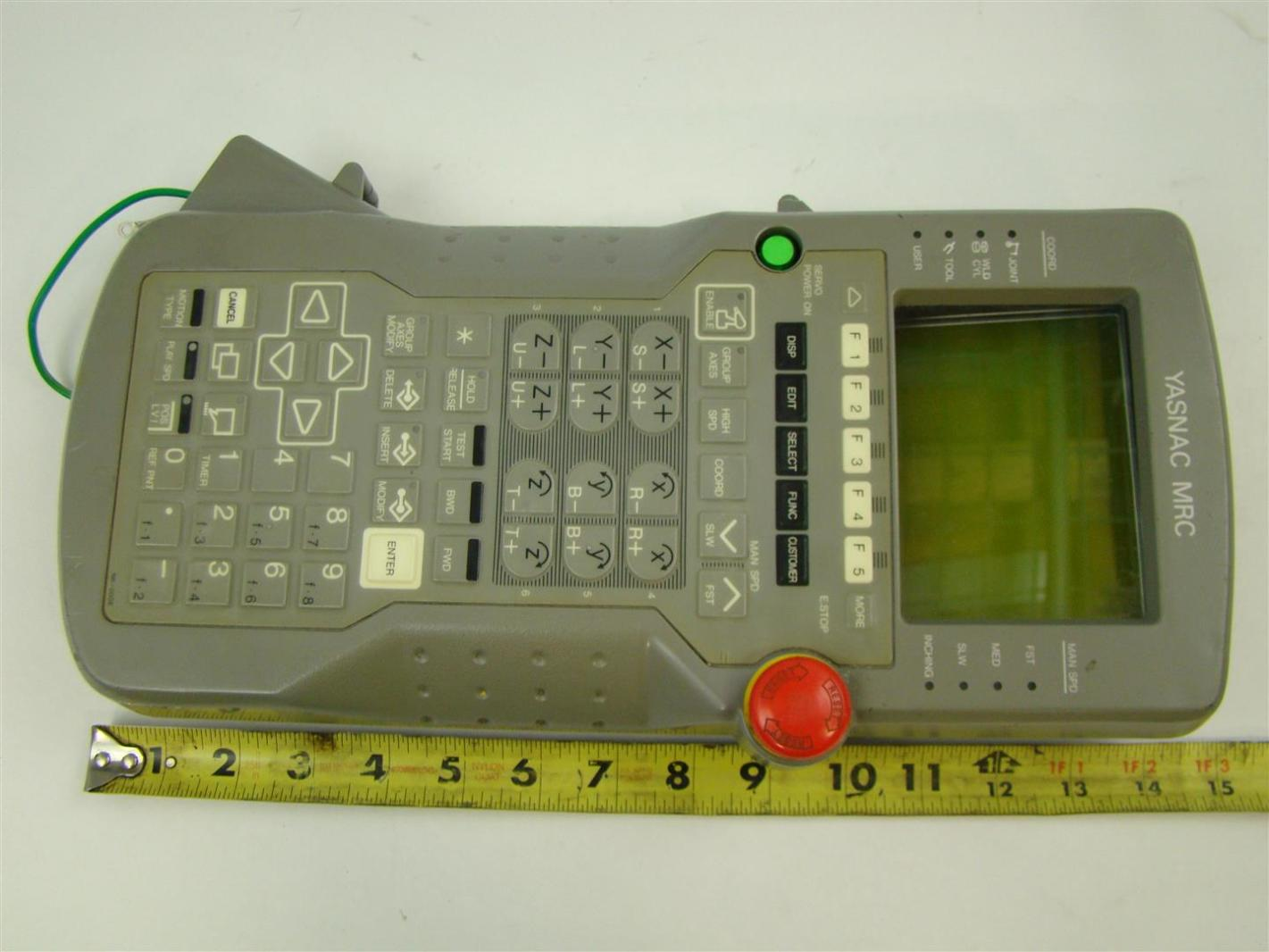 Yasnac mrc jznc mpp20e pendant controller ebay yasnac mrc jznc mpp20e pendant controller aloadofball Choice Image