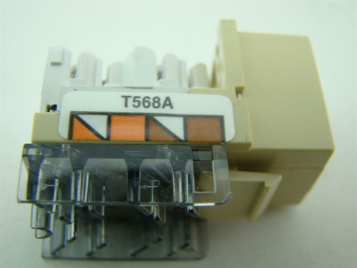 5 Pcs Hubbell Premise Wiring Xcelerator Cat3 Gx2 662620824758 Ebay
