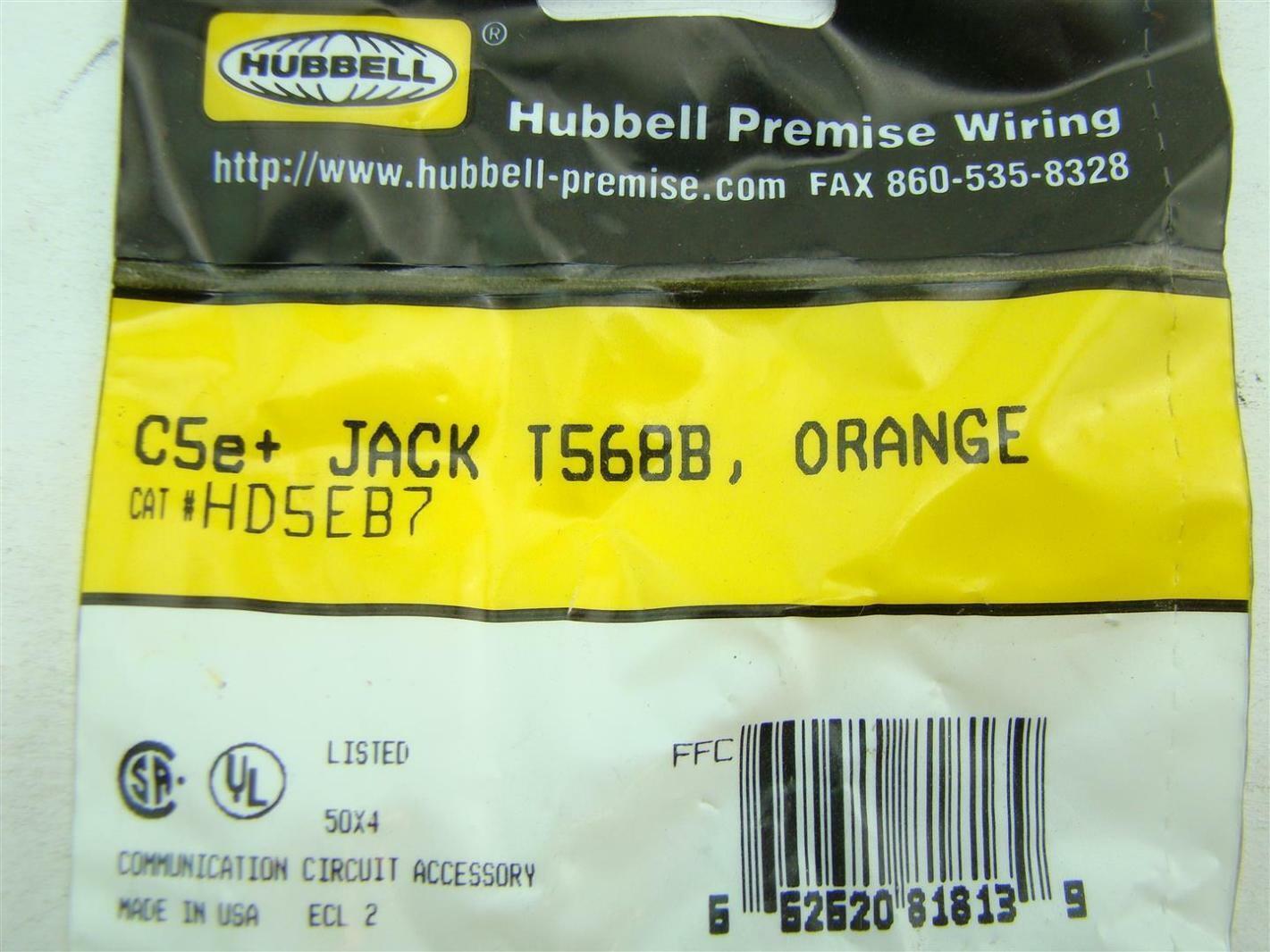 Groovy 13 Pcs Hubbell Premise Wiring Hd5Eb7 Joseph Fazzio Incorporated Wiring Database Gramgelartorg