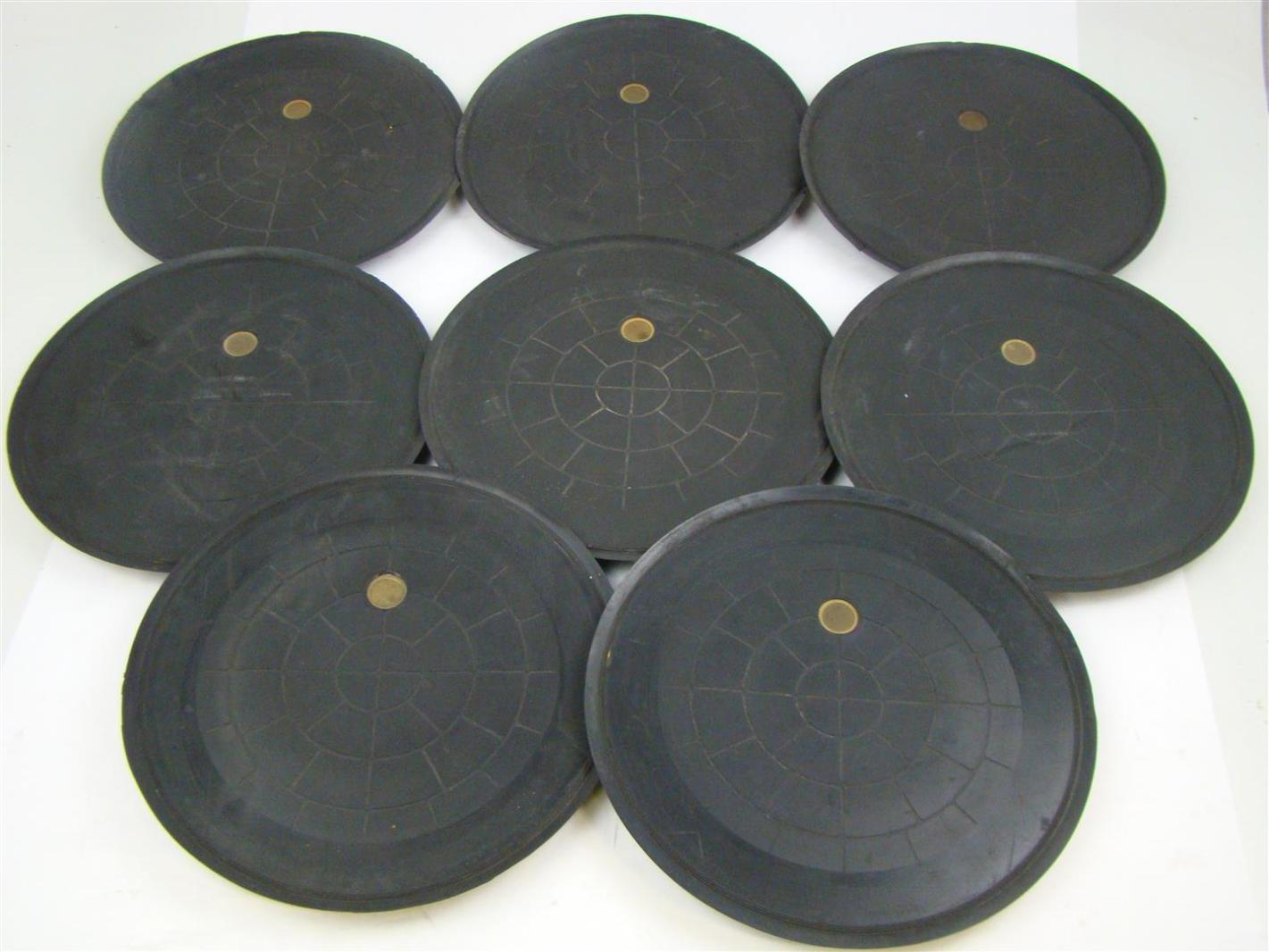 8 Pcs Woods Rubber Powr Grip G3370 Vacuum Pad