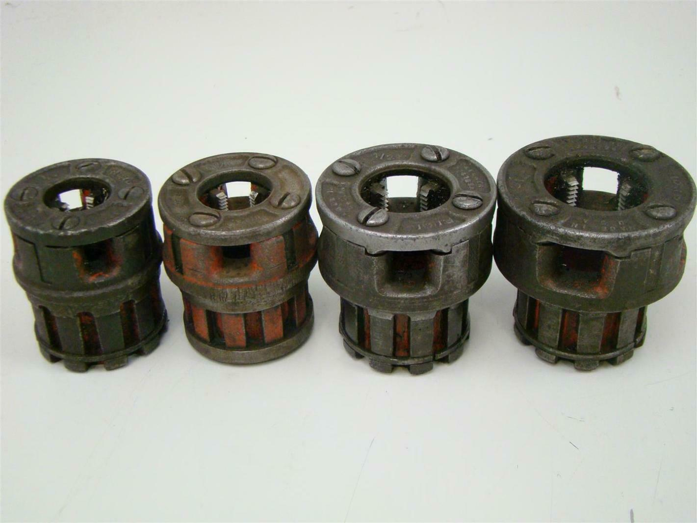 Ridgid Manual Pipe Threader 00-R WITH DIES 1/4 3/4 & Ridgid Manual Pipe Threader 00-R WITH DIES 1/4 3/4  1/2 3/8 | eBay