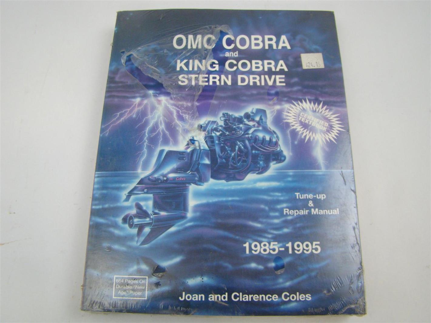 Omc cobra 5 0l manual array seloc omc cobre and king cobra stern drive repair manual 1985 1995 rh ebay fandeluxe Images
