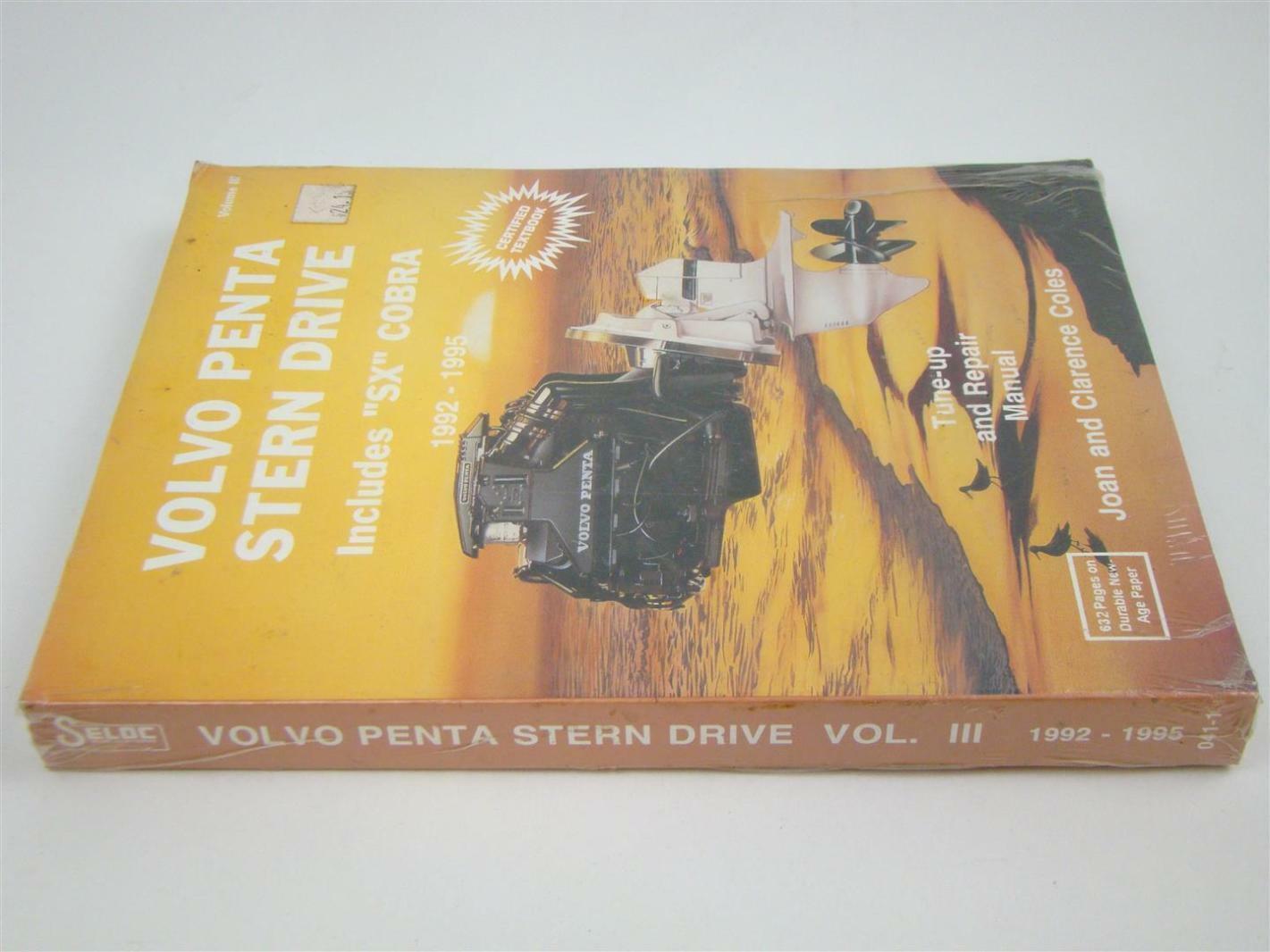 Seloc Volvo Penta Stern Drive Repair Manual ,1992 - 1995, 0-89330-