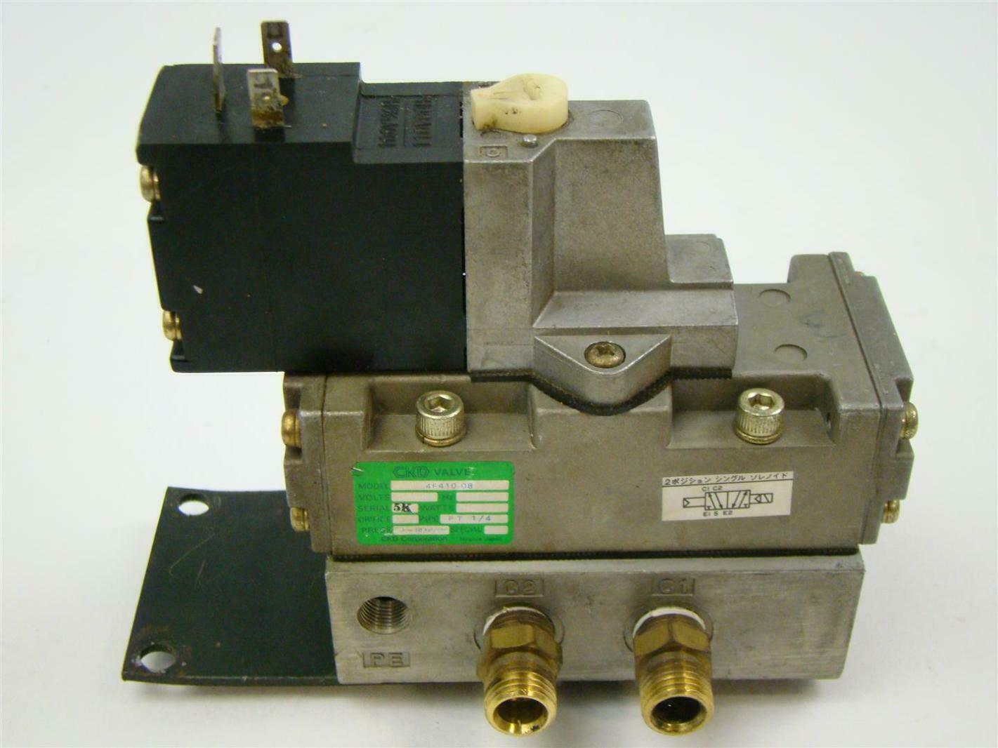 CKD 5 Port Selex Valve , 4F410-08