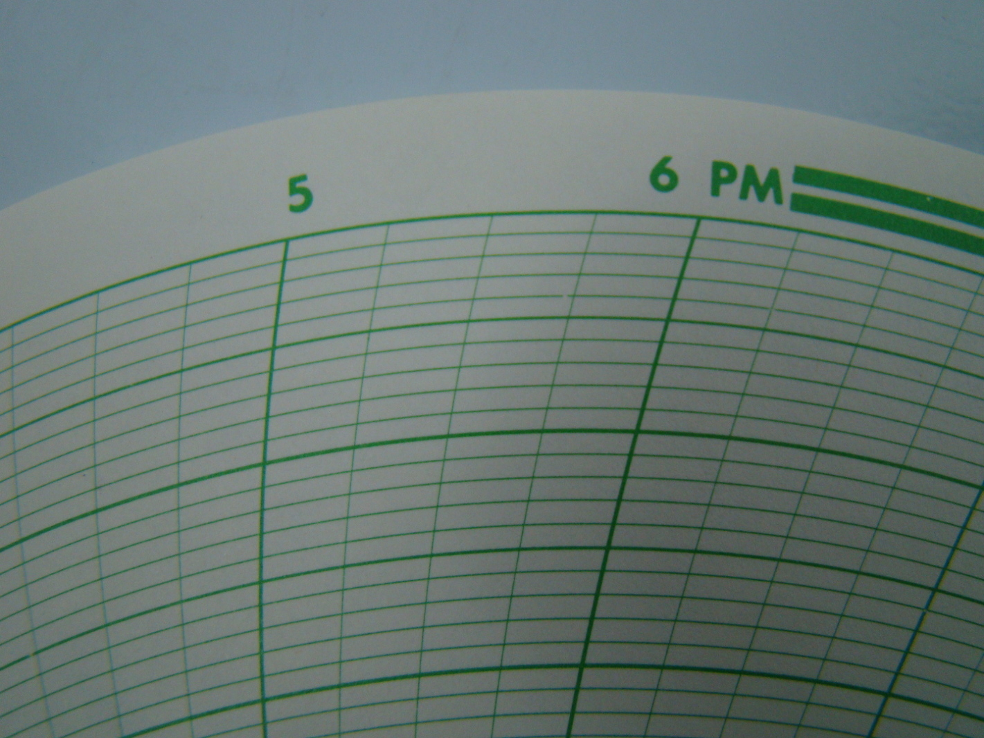 graphic controls circular recording charts 5 5 0 5 range br 55137 pn