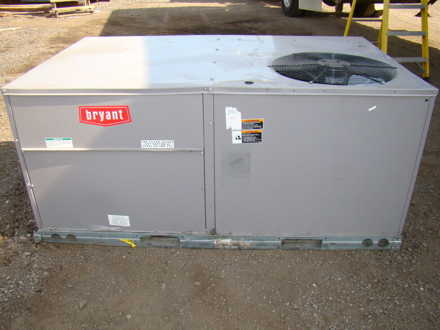 bryant 4 ton 78,499 btu air conditioning unit 460v | ebay