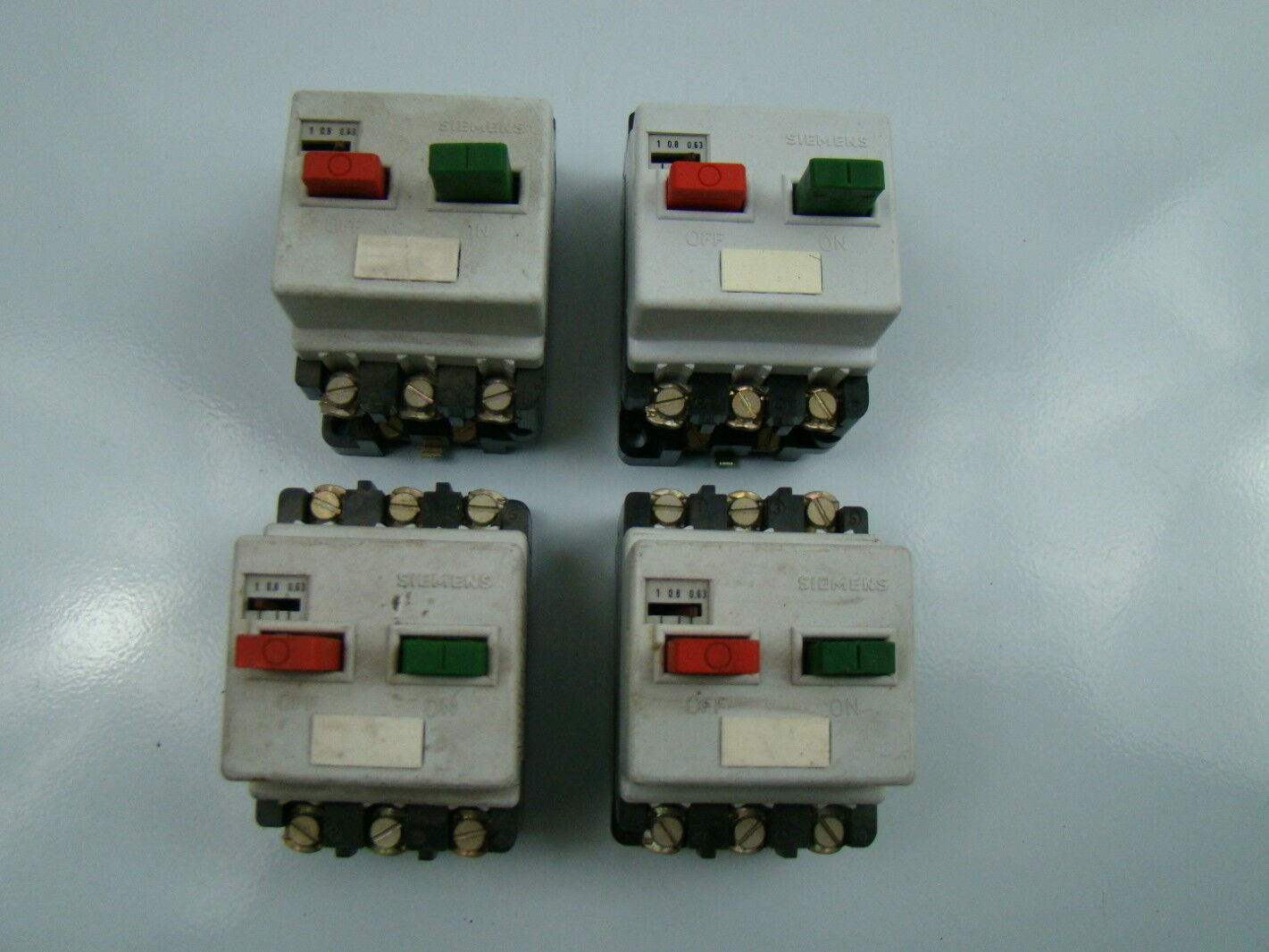 Siemens 0.63-1 Amp Motor Starter 3VE1010-2F | eBay