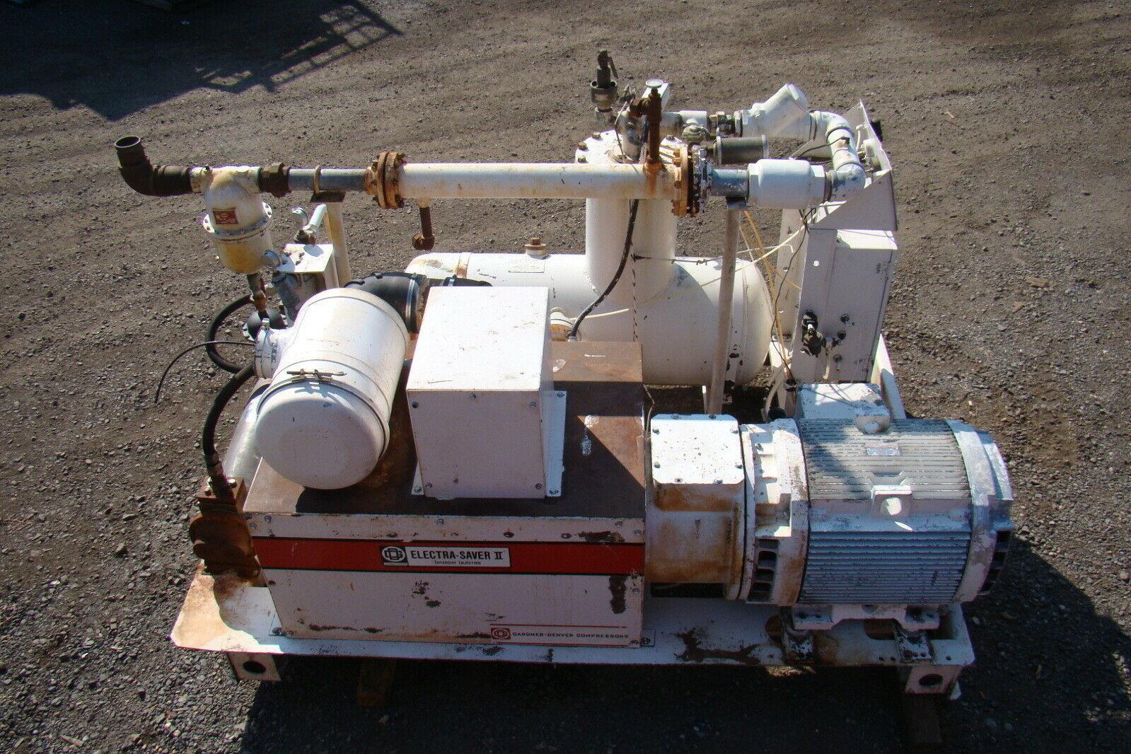 Details about Gardner Denver 150HP 460v Rotary Air Compressor ECQSOA DCAAKXC