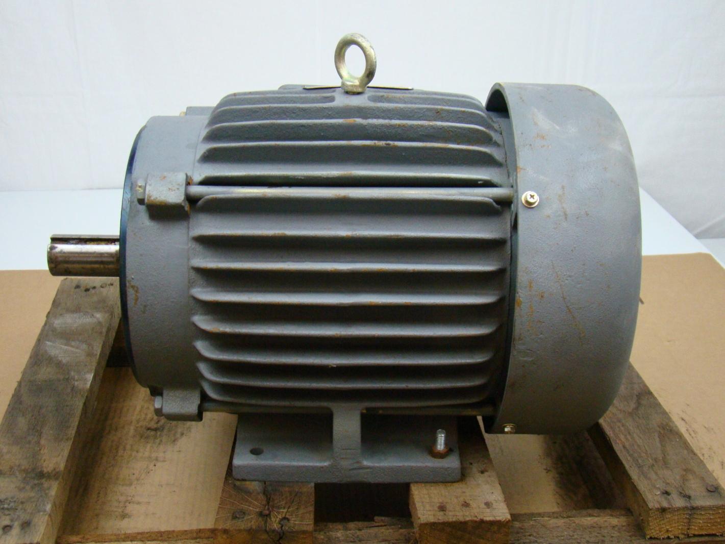 General electric 7 5 hp electric motor 230 460v for Circuit breaker for 7 5 hp motor