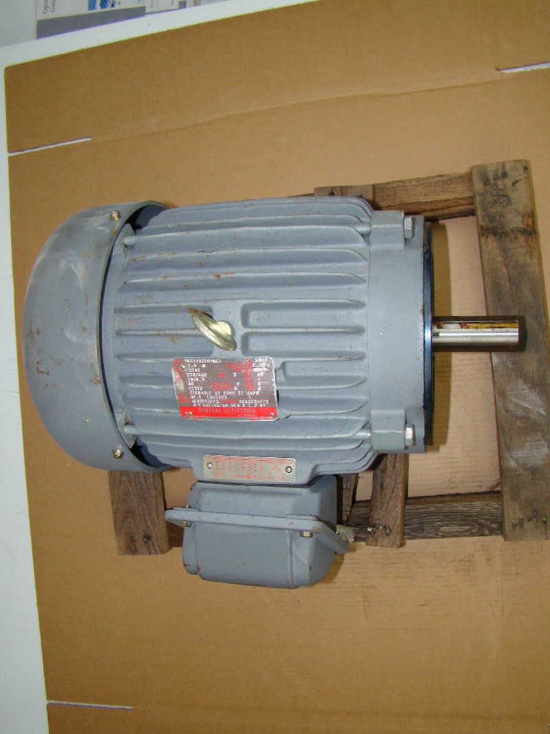General Electric 7.5 HP Electric Motor 230/460v 5K213SC205RE1   eBay
