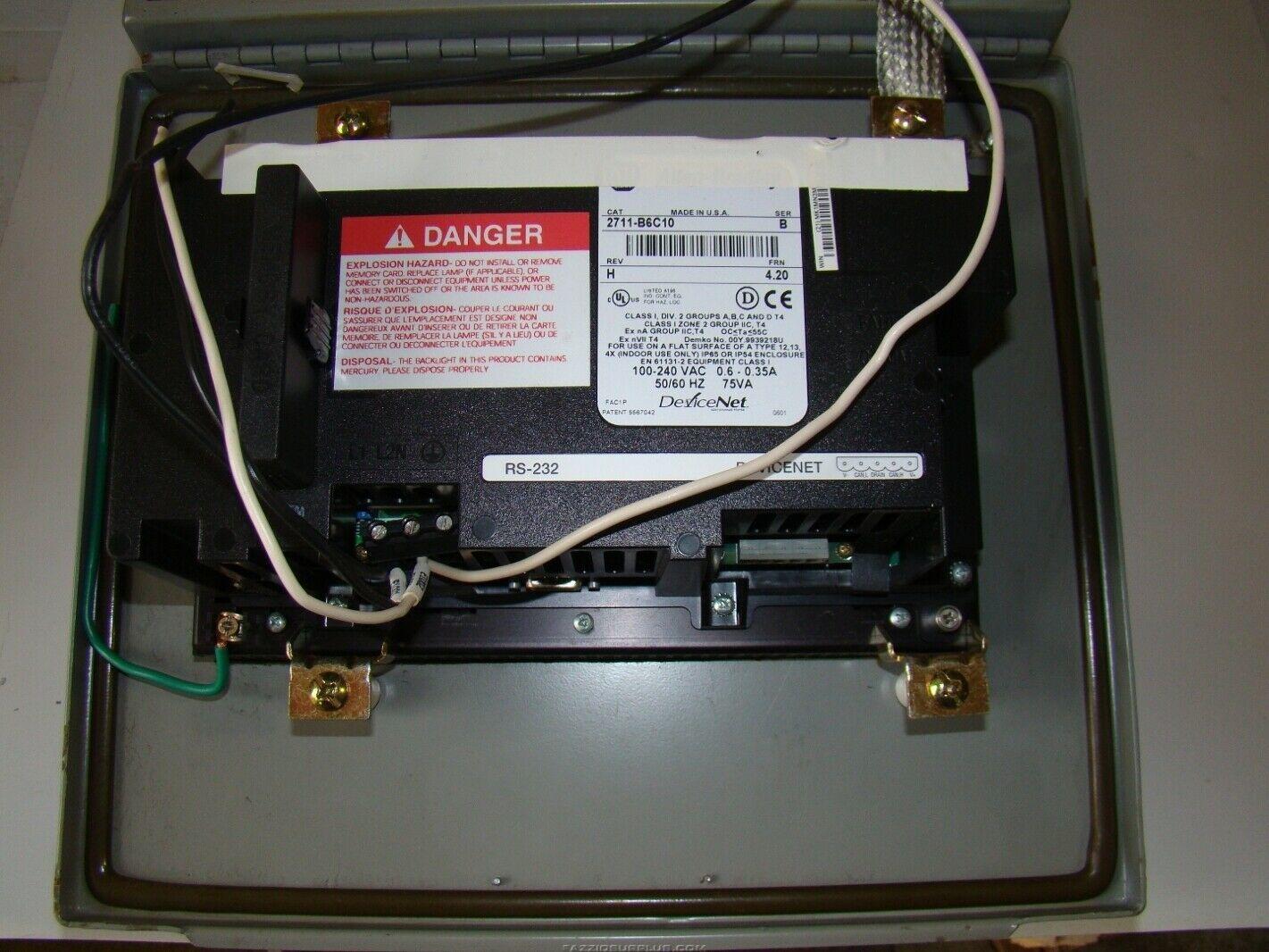 Allen-Bradley, PanelView 600, 2711-B6C10