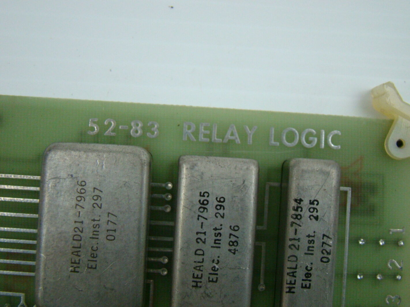 Heald 52 83 Relay Logic Circuit Board Ebay Basic Circuits