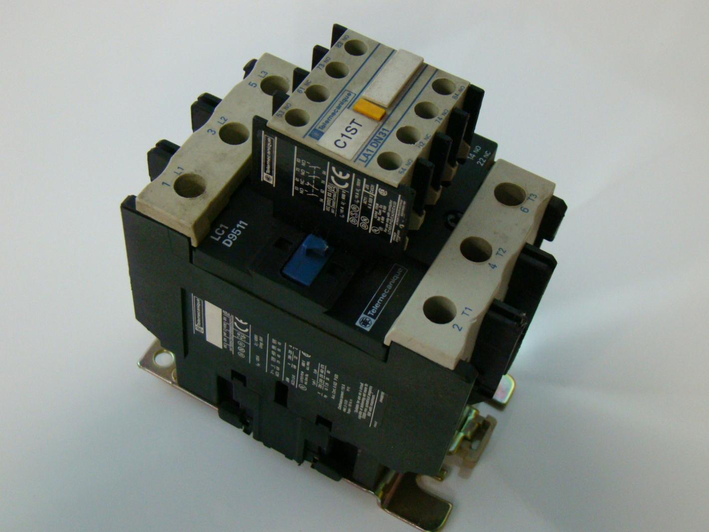 Telemecanique 125A Magnetic Contactor LC1 D9511
