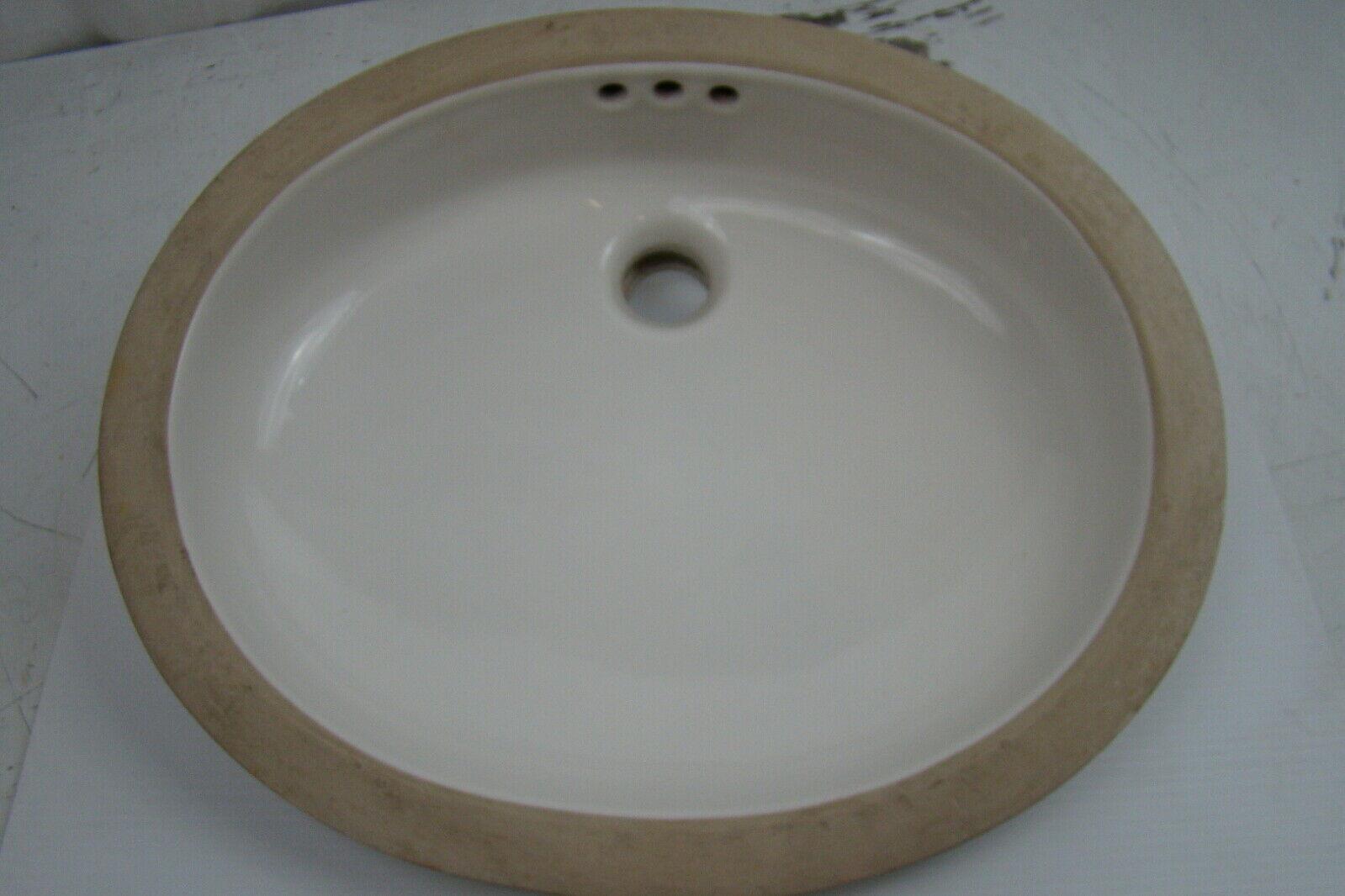American Standard Ovalyn White Undercounter Sink 9482000.020 | eBay