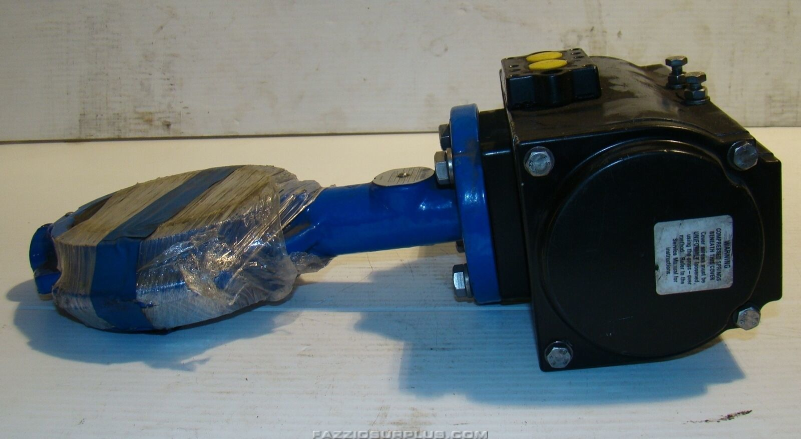 Details about Grinnell,Series 8000 Butterfly Valve Morin Actuator  MRP-009U-K-S040