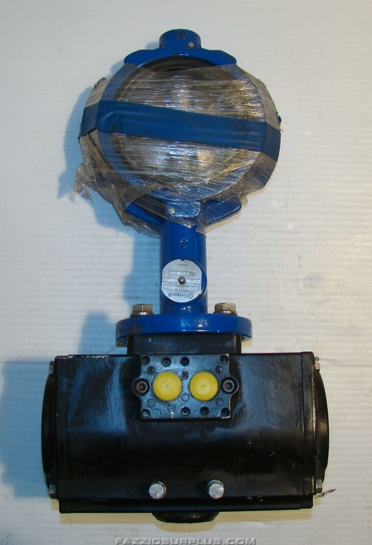 Grinnell Series 8000 Butterfly Valve Morin Actuator Mrp