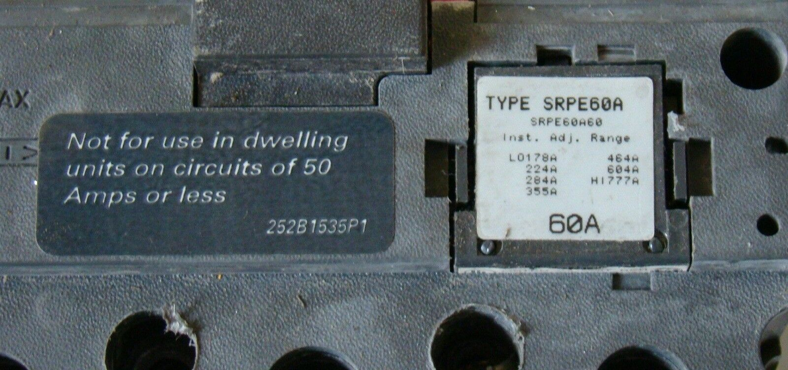Amp Circuit Breaker For 12 24 50 Volts Dc Or 120 240 Volts Ac Ebay