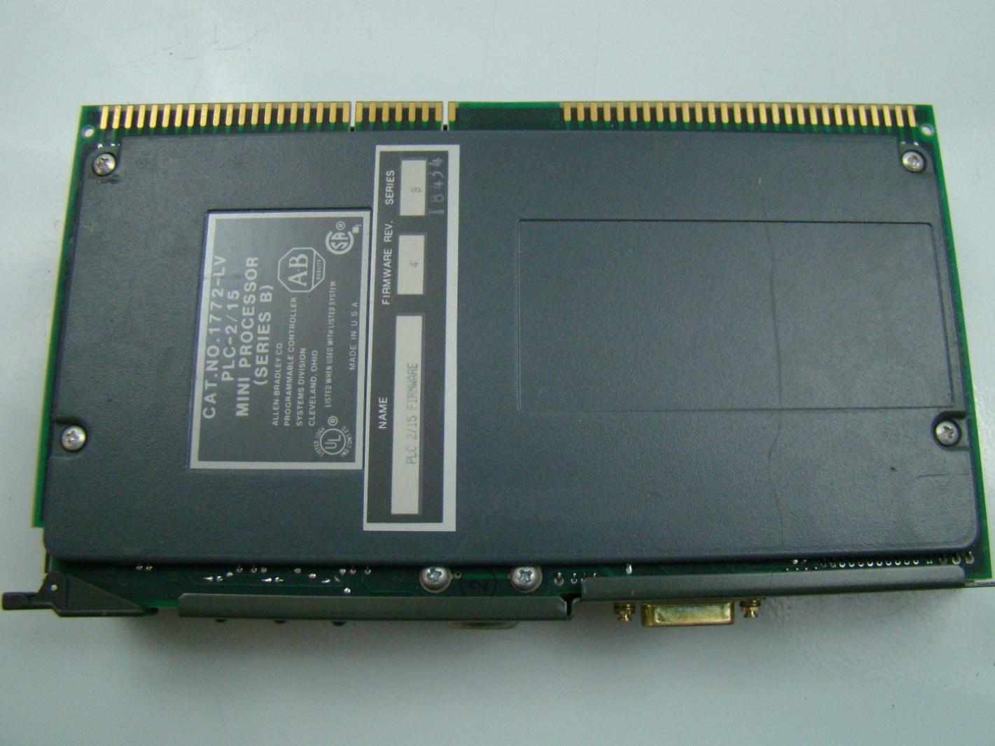 Details about Allen Bradley PLC-2/15 Mini Processor 1772-LV