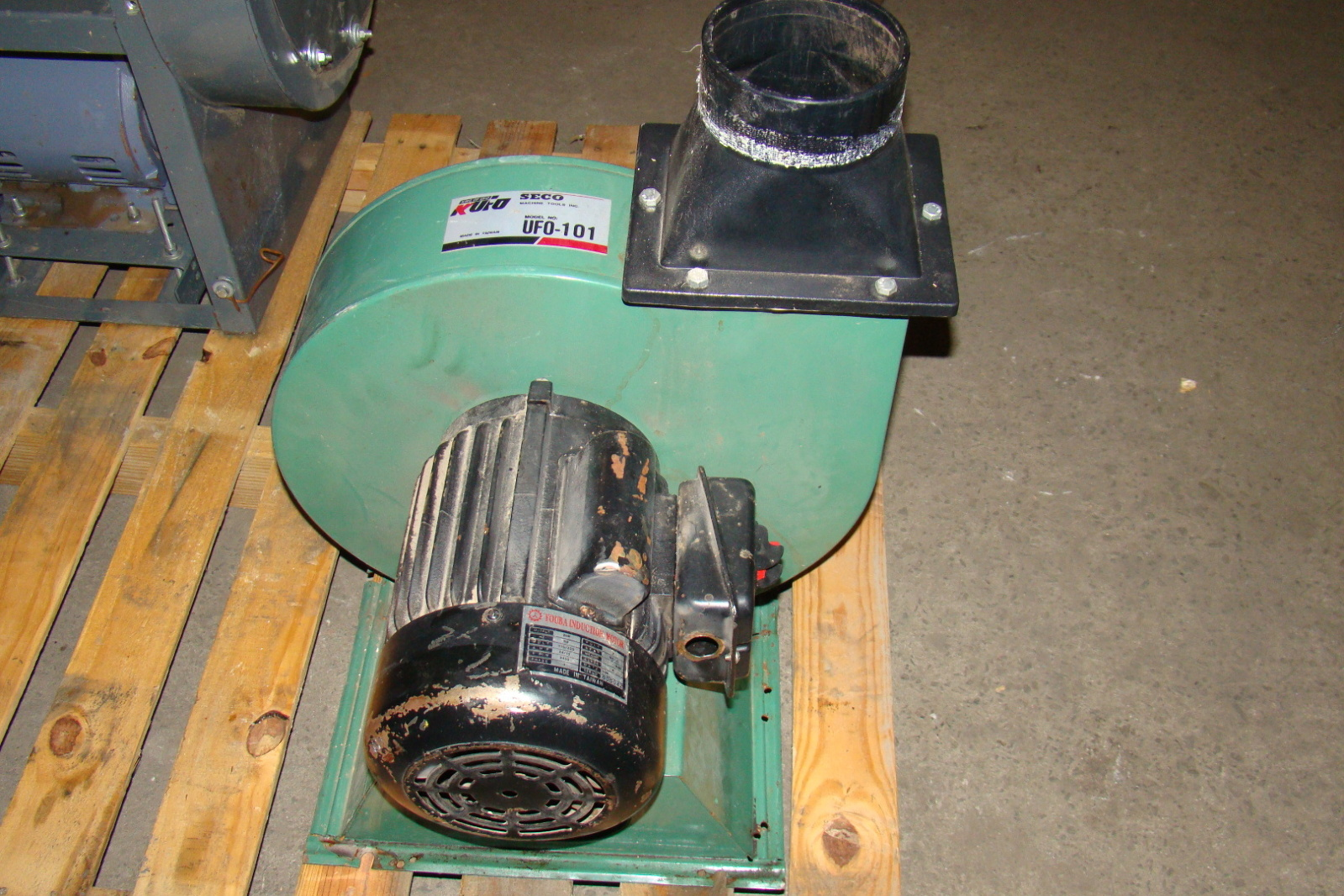 Industrial Dust Blowers : Kufo blower cfm youba hp motor v uf ebay