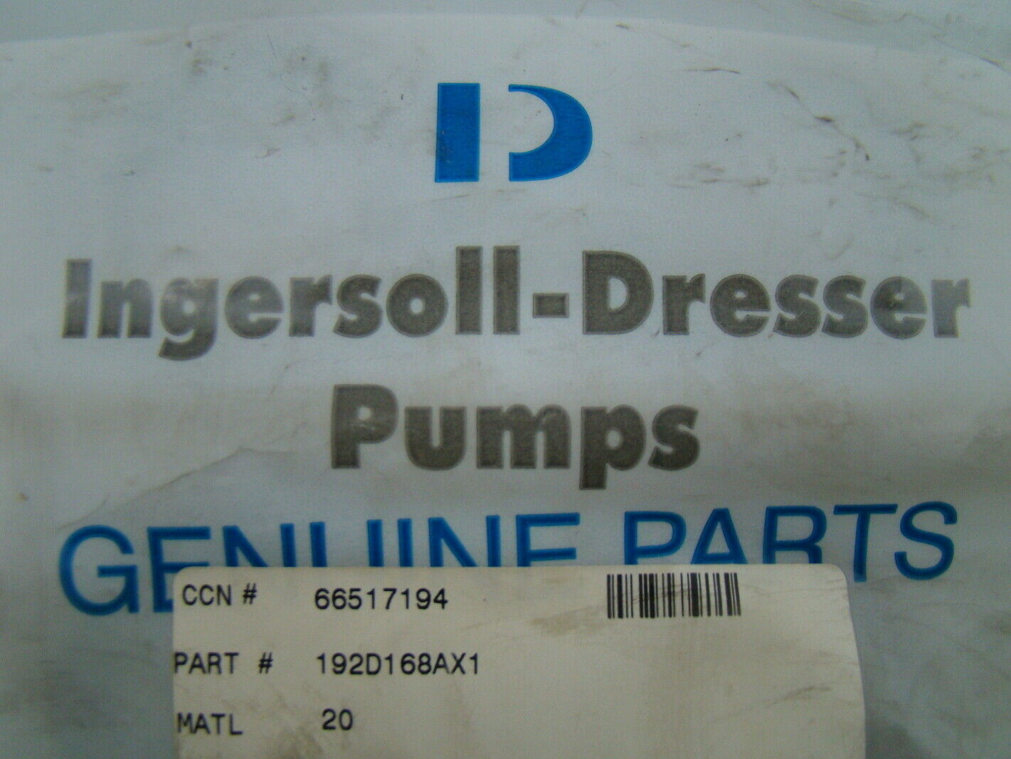 Ingersoll-Dresser Pumps 1 91