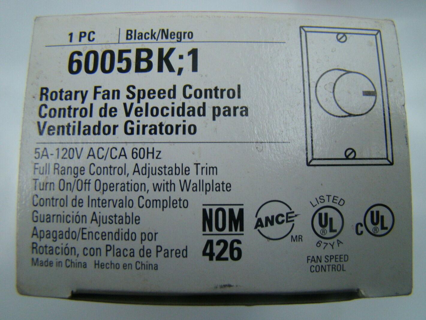 Cooper Wiring Device Pdf Devices Diagrams Single Pole Fan Control 6005bk 1 Ebay Rh Com