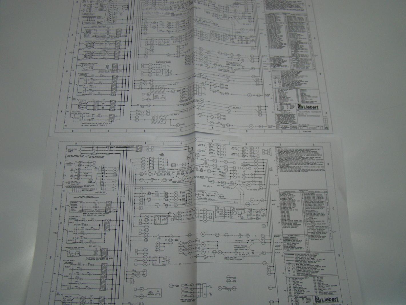 liebert control board 415761g ebay rh ebay com Electrical Schematic HVAC Wiring Schematics