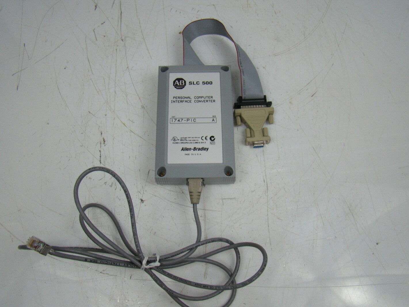Allen-Bradley SLC 500 Personal Computer Interface COnverter 24 VDC 1747-PIC