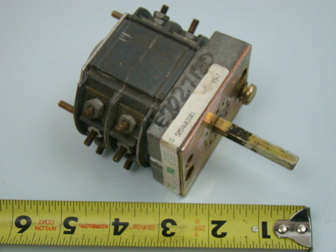 Electroswitch Type W 2 Rotary Switch 505a603601 Ebay