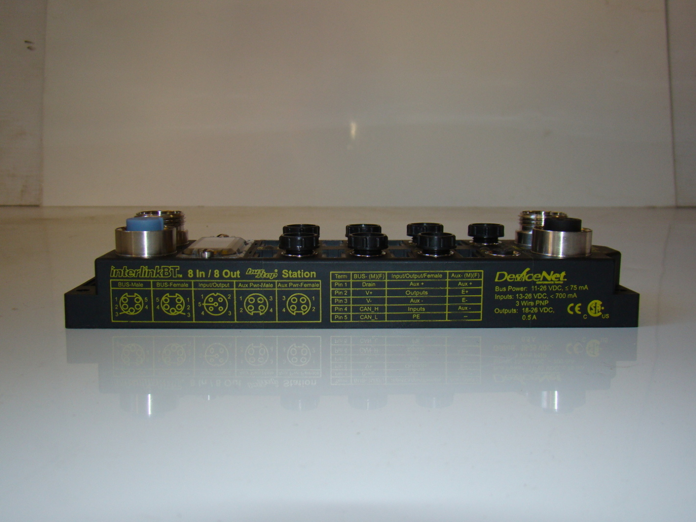 BusStop DeviceNet Advanced I//O Module AIM FDNP-CSG-88-TT
