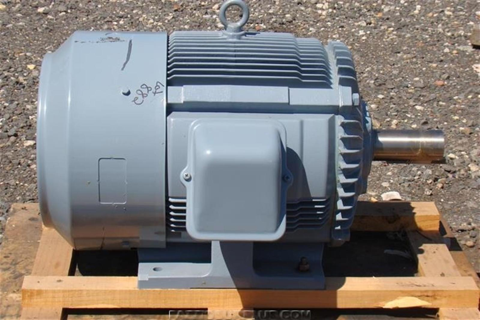 Nidec electric motor 30kw 40 hp 440v 3 phase 6315zzc3 ebay for 40 hp 3 phase electric motor