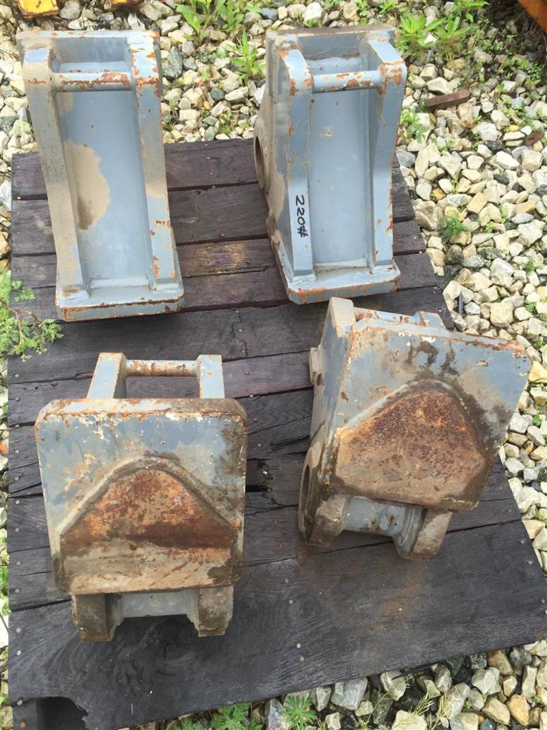 Terex 110 American Crane Frame Extention Parts (SET OF 4)