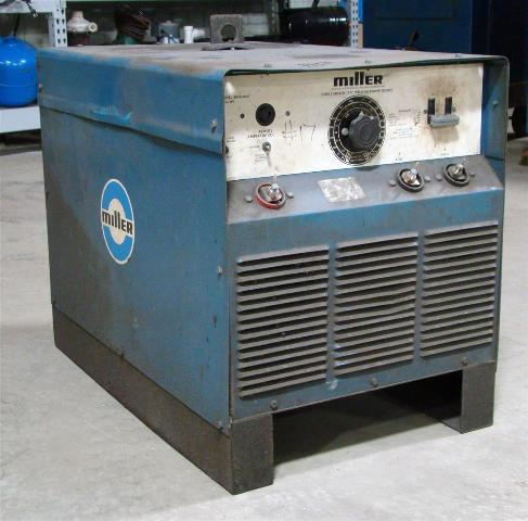 Miller Arc Welder >> Miller Dc Arc Welder Constant Current 3 Phase Power Source Srh 444
