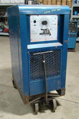 Miller Arc Welder >> Miller 600a Dc Arc Welder Power Source 230 460v 3 Ph Sr 600