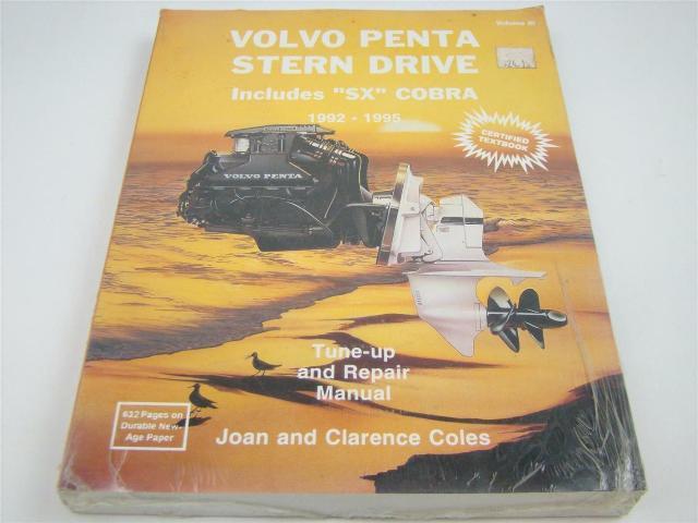 Seloc Volvo Penta Stern Drive Repair Manual ,1992 - 1995, 0-89330-041-1