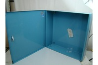 HUBBELL Wiegmann 24x24x7 Lockable Hinged Wall Mount Enclosure  Nema 1 S1035218
